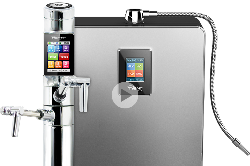 ionized water machine